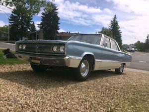Rare 1967 Dodge Coronet 440 225 slant 6