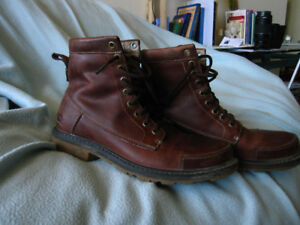 Mens Leather Boots-Windriver- Worn Twice