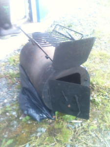 camping prospector wood stove