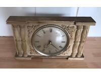 Solid heavy Westclox mantel clock
