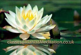 Free regular mantra meditation classes in Birmingham