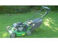 John deere 21' cut professional mower with Kawasaki engine blade clutch alloy deck, cost over £1000