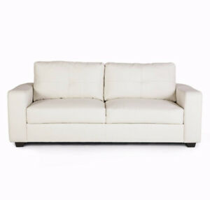 LACEY WHITE SOFA $699 TAX INCLUDED & FREE LOCAL DELIVERY