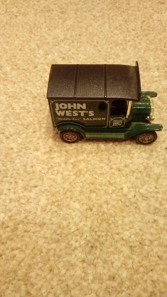 Vintage john west toy car