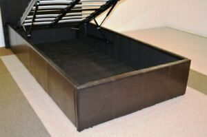 King Size Mattress and Leather Bed Frame