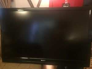 """55"""" LCD with tv stand"""