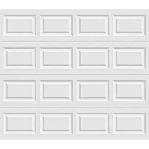 Clopay Premium Series 8 ft. x 7 ft Insulated White Garage Door