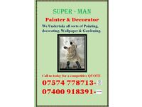 Superman Painter & Decorator