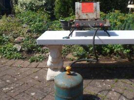 Veritas Pandora Twin Burner Liquid Gas Hotplate