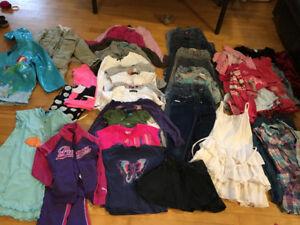 lot de vêtements de marque pour fille 5-6X