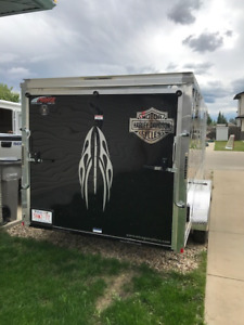 Mirage Motorcycle Enclosed Trailer 7x14