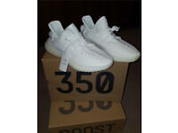 Triple White Adidas Yeezy Boost 350 V2 Yeezys BRAND NEW Men's Boys