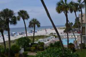Ocean Front Condo in Indian Shores, FL.    JANUARY SPECIAL