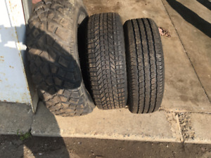 GOOD SELECTION OF USED TIRES