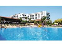 2 Week All Inclusive Holiday for 2 to Crete, Greece from Birmingham Airport, 31/08-14/09 2017
