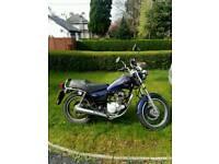 Yamaha SR 125 cc. Reliable motorbike.