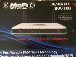 MoFIi Network 3G/4GLTE Router