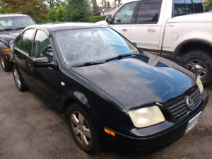 01 VW Jetta - solid body, Must Go