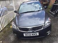 2012 Kia ceed.1.6 diesel.ex MOD.great condition.cat c professionally repaired