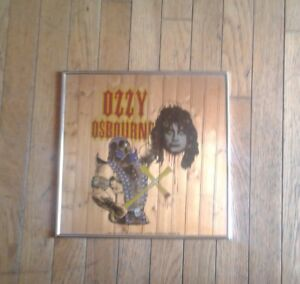 Ozzy Osbourne vintage mirror ( 1982) 12square inches