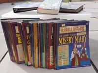 HORRIBLE HISTORIES large collection magazines / timeline