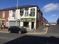 Well established cafe business for sale in OLDHAM