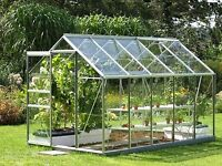 GREENHOUSE ALUMINUIM - GLASS