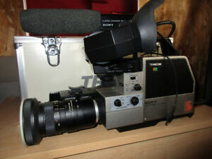 Sony Trinicon Movie Camera