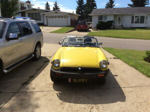 1980 MGB California car