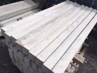 concrete fence posts twin hole pack 10 6ft inc local delivery