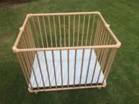 Geuther Lucy playpen.