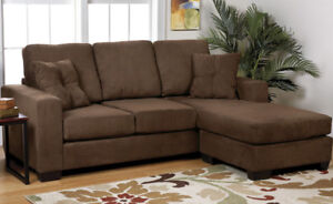 Hayden Sectional Sofa with Reversible Chaise, New