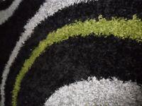 Nordic Equator - 160 x 230 - Green/Grey/White Rug