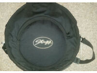 "Stagg SH Medium Regular: 14"" Hi-hat, 16"" Crash and 20"" Ride, Includes Bag!"