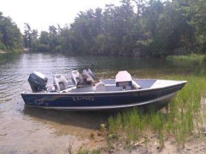 14' Lund Rebel SS with Yamaha Outboard