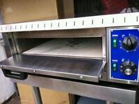 Commercial Gam Electric Stone pizza oven catering equipment.