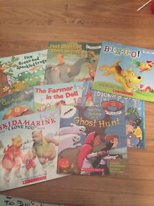 Scholastic sing song books