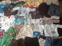 Bundle of 3-6 months Boys clothes - 46 items!