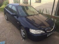 HONDA ACCORD 2.0 LITRE PETROL 5 DOOR SALOON