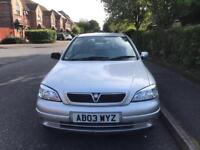 Vauxhall Astra 1.6 2003 in very good condition drives excellent 1 year MOT Full Service history