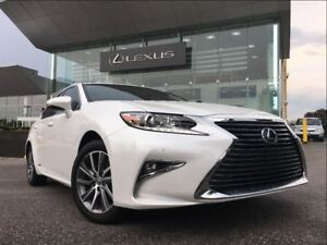 2016 Lexus ES 300h 1 Owner Leather Sunroof Bluetooth