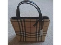 Genuine Burberry handbag