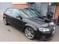 Audi A3 TDI S LINE BLACK EDITION-XENON HEADLIGHTS-BOSE SPEAKERS