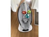 4Moms mamaRoo electric baby rocker/bouncer - Classic Grey 170 ONO
