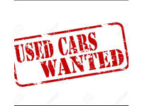 Used Cars Wanted ! Any cars, High Mileage Cars, Old Cars, Bmw Mercedes Audi Jaguar lexus