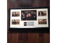 3 Framed Original Pictures From Twilight Movie Trilogy