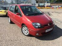 AUTOMATIC Renualt Megane Scenic, Mint Condition, full Service History & mot**IDEAL 1st CAR**