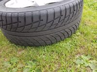 """lovely 15"""" multustud alloys with nearly new tyres"""