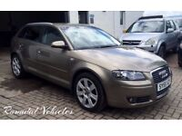 Beautiful Audi A3 2.0 tdi AUTO SPORTBACK five door hatch SE model, FSH, 12 months mot, just serviced