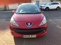 2009 Peugeot 207 SW 1.4 VTi Sport 5dr Manual @07445775115@